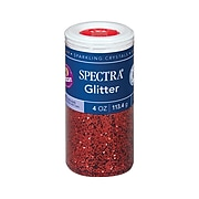 Spectra Glitter, Red, 6/Bundle (PAC91640)