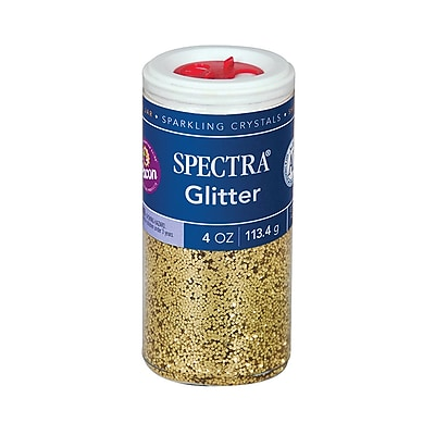 Spectra® PAC91680 Gold Glitter, 4 oz.