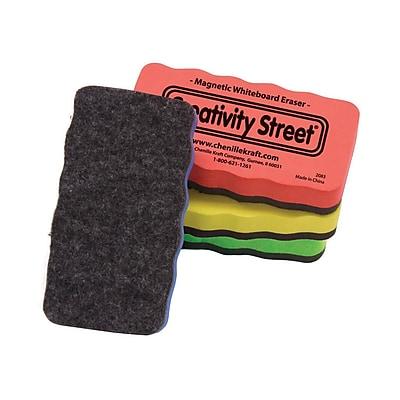 Creativity Street® Magnetic Erasers, 4.25
