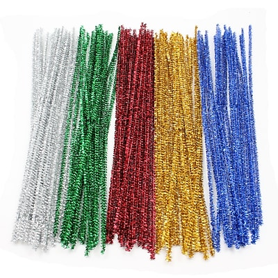Pacon Jumbo Chenille Stems Ages 3+, 1000 Stems Per Pack (PACAC911501)