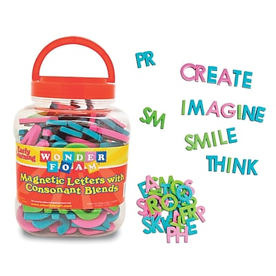 Pacon Magnetic Letters, Assorted Colors (PACAC9305)