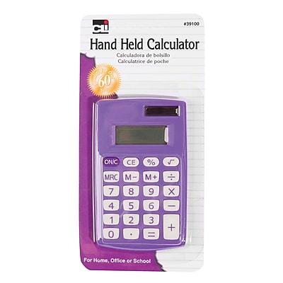 Charles Leonard CHL39100 8 Digit Display Primary Calculator