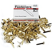 "Charles Leonard Brass-Plated Paper Fasteners 3/4"", Brass, 1800 Fasteners/Bundle (CHL3RBP)"