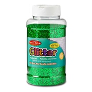 Charles Leonard Green Glitter Ages 3+, 3 Count of 16 Oz Bottle (CHL41125)