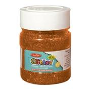 Creative Arts CHL41465 Glitter 4oz Jar Orange, bundle of 6
