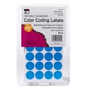"""3/4"""" Color Coding Labels, Blue, 1000 labels (CHL45115)"""