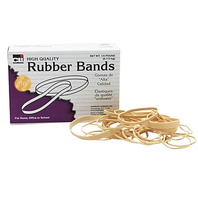 Rubber Bands Assorted Sizes, 54, 1/4 lb (CHL56154)