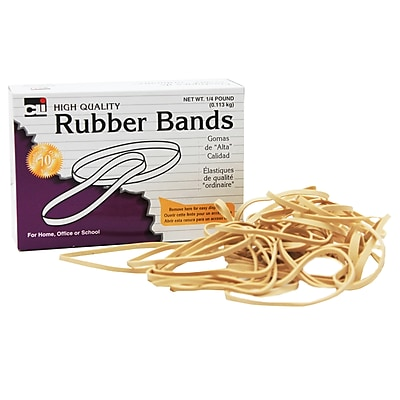 Rubber Bands 3 1/2 x 1/4, 64, 1/4 lb (CHL56164)