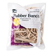 Charles Leonard Rubber Bands, Natural Color, 1-3/8 oz., 12 packs (CHL56381)