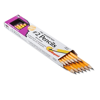 Charles Leonard Pre-Sharpened Pencils, No. 2, 12 packs of 12 (CHL65512)
