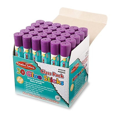 Charles Leonard 0.28 oz. Economy Glue Classpack, Purple, 29/Box
