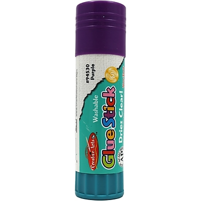 Charles Leonard 1.3 oz. Economy Glue Stick, Purple