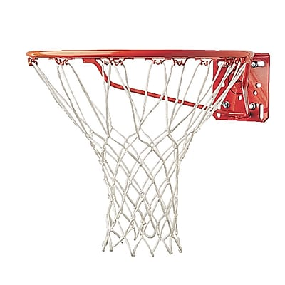Champion Sports 4MM Economy Nylon Basketball Net. White, 12 Nets Per Order (CHS400)