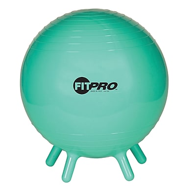 Champion Sports® 42 cm Fitpro Ball With Stability Legs, Green
