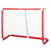 Champion Sports Plastic Floor Hockey Collapsible Goal, Red and White (CHSFHG54)