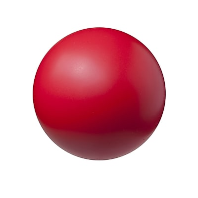 Champion Sports® High-Density Coated Foam Ball, Red, 4