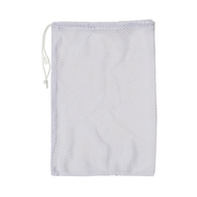 "Champion Sports 24"" x 36"" Nylon-Mesh Equipment Bag. White, 3 Bags Per Order (CHSMB20)"
