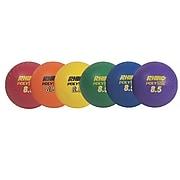 "Champion Sports Rhino Poly 8.5"" Playground Balls Set, Assorted Colors, 6/Set (CHSPX85SET)"