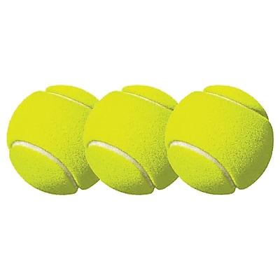 Champion Sports Tennis Balls, Yellow, 3 per Pack, Bundle of 6 Packs (CHSTB3)