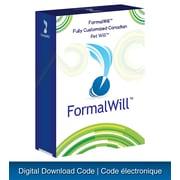 FormalWill – Trousse de testament canadien pour animaux de compagnie entièrement personnalisé [téléchargement]