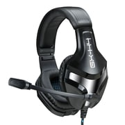 "ENHANCE ENGXH40100BKEW, Gaming Headset with Adjustable Microphone, 11"" x 9"" x 4"", Black, 20/1"