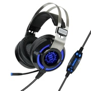 "ENHANCE ENSCH7L100BKEW, Gaming Headset w/7.1 Virtual Surround, 7.5"" x 4"" x 7"", Black, 8/4"