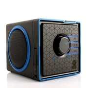 "GOgroove GGSVBX0110BKEW, Portable Stereo Speaker System w/Rechargeable Battery, 6.25"" x 5.19"" x 4.75"", Black, 18/1"