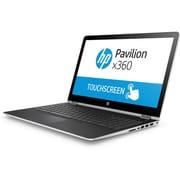 HP-Portatif Pavilion BR095MS 15,6 po remis à neuf, écran tactile, Intel Core i5-7200U 2,5GHz, SSD 128 Go, DDR4 8 Go, Win 10 Fami
