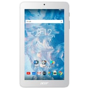 Acer - Tablette Iconia One 7 po remise à neuf, 1,3 GHz MediaTek MT8167B, 16 Go eMMC, 1 Go RAM, Android 7.0, blanc