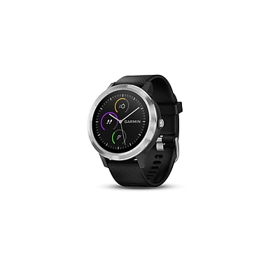 Garmin vivoactive® 3 Smart Watch, Black & Stainless