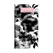 """TF Publishing Pink Black Floral Password Book, 3.5"""" x 6.5"""" (99-7501)"""