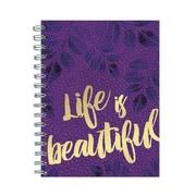"TF Publishing Beautiful Violet Journal, 7.25"" x 9"" (99-6715)"