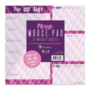 "TF Publishing Violet Argyle Memo Mouse Pad, 7.75"" x 7.75"" (99-5015)"