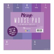 """TF Publishing Shades of Violet Memo Mouse Pad, 7.75"""" x 7.75"""" (99-5115)"""