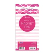 "TF Publishing Magnetic Watercolour Memo Pad, 4"" x 8"", Pink (99-8511)"