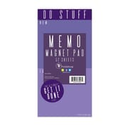 "TF Publishing Magnetic Do Stuff Memo Pad, 4"" x 8"", Violet (99-8615)"
