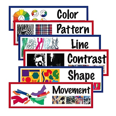 Crystal Productions® Elements Of Art Display Cards