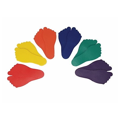 Feet Markers Set of 6,Assorted (AEPYTB073)