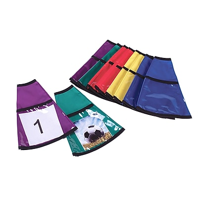American Educational, Changeable Cone Covers Set of 10, Assorted Colors (AEPYTC277)