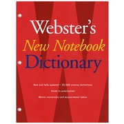 Webster's New Notebook Dictionary, 4 EA/BD