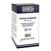 AMACO Plaster of Paris Casting Compound, 5 lb., White (AMA52761T)