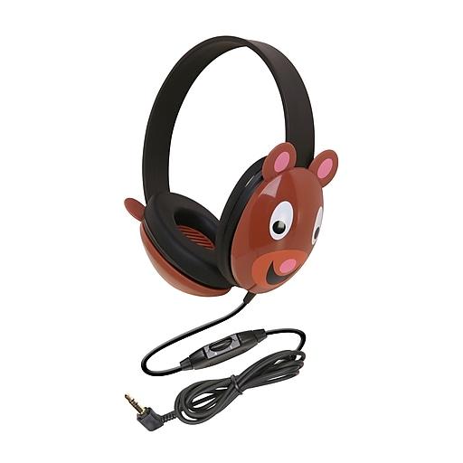 Califone Listening First Headphone, Bear (CAF2810TIBE)