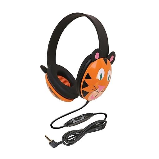 Califone Listening First Headphone, Tiger (CAF2810TI)