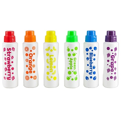 Do-A-Dot Art Fruit Scented Dot Markers, 6/Pack (DAD202)