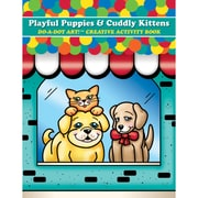 Playful Puppies & Cuddly Kittens Doa Dot Art Creative Activity Book