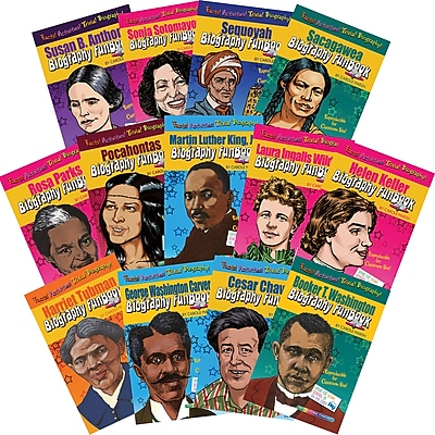 Biography FunBooks, Women & Minorities Who Shaped Our Nation