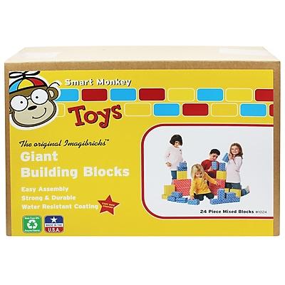 ImagiBRICKS Giant Building Block Set, 24 Piece