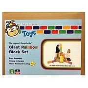 ImagiBRICKS™ Giant Rainbow Building Block Set, 24 Piece Set