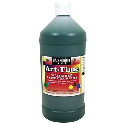Sargent Art® Art-Time® 32 oz. Washable Tempera Paints, Green