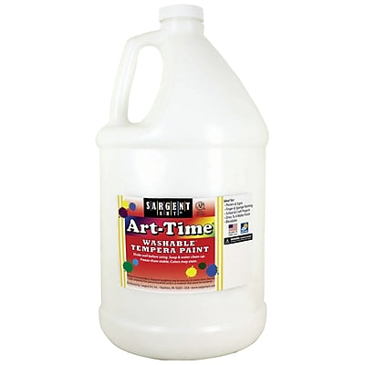 Sargent Art® Art-Time® Gallon Washable Tempera Paints, White